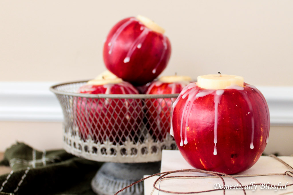 DIY apple candle (2)