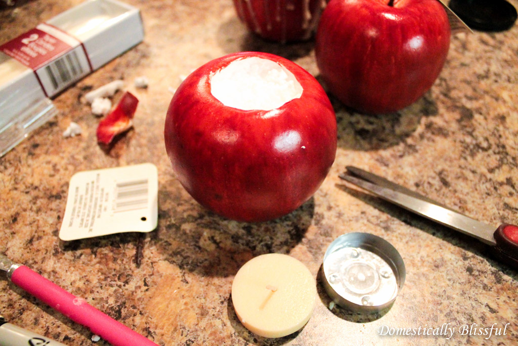 DIY apple candle (5)