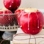 """DIY : """"เทียนไขแอปเปิ้ล"""" ของตกแต่งสำหรับงานปาร์ตี้ หรือดินเนอร์ส่วนตัวสุดโรแมนติก!!"""