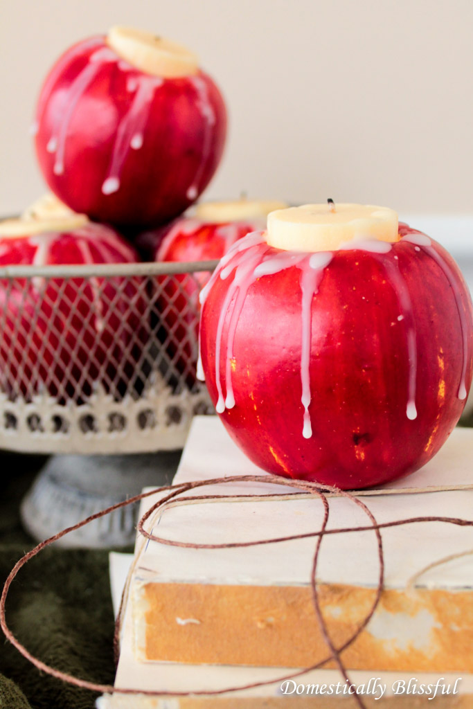 DIY apple candle (7)