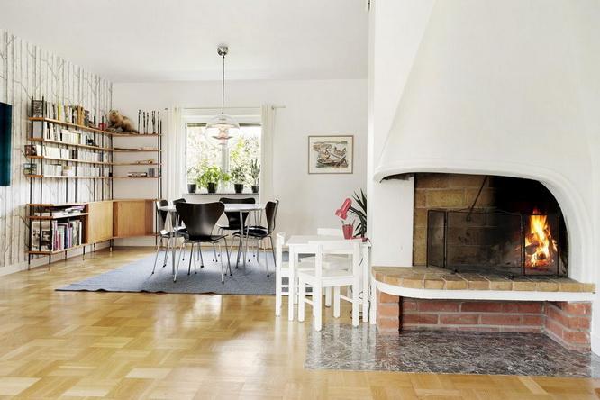 contemporary brick house with spacious interior (2)