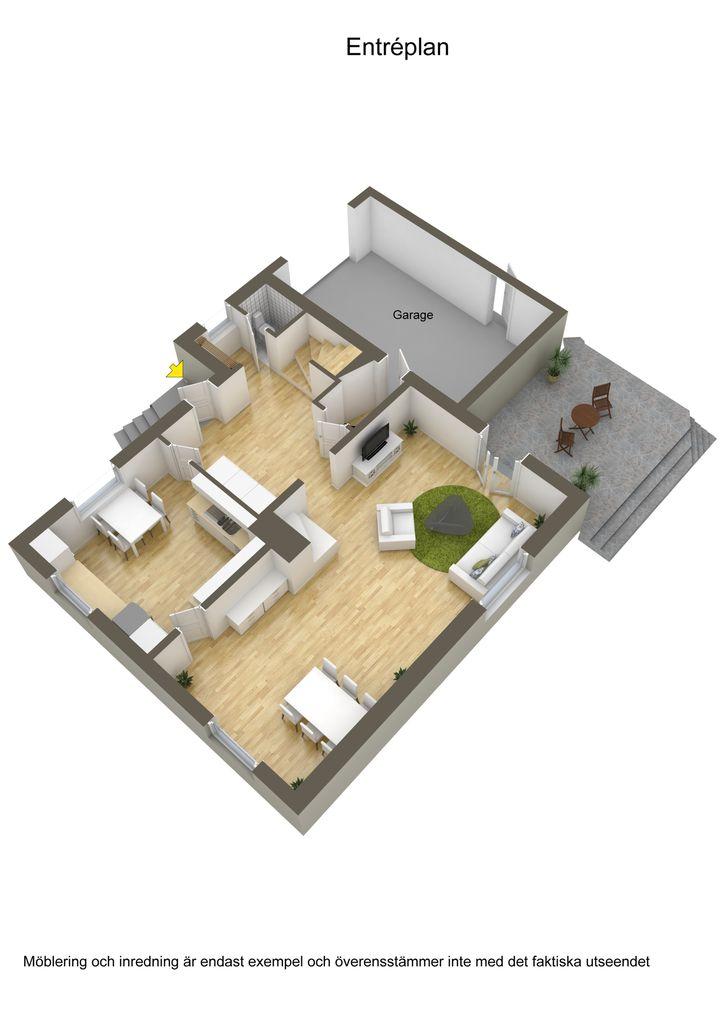 contemporary brick house with spacious interior (25)