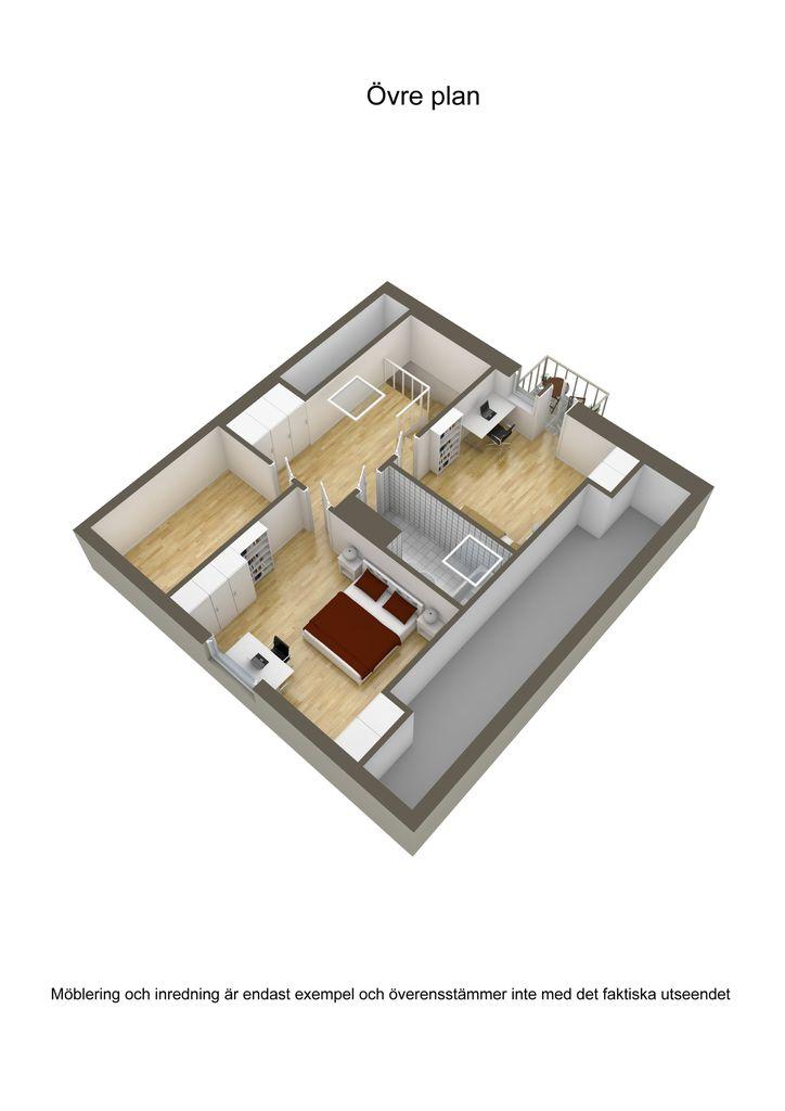 contemporary brick house with spacious interior (26)