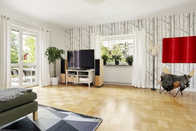 contemporary brick house with spacious interior (7)