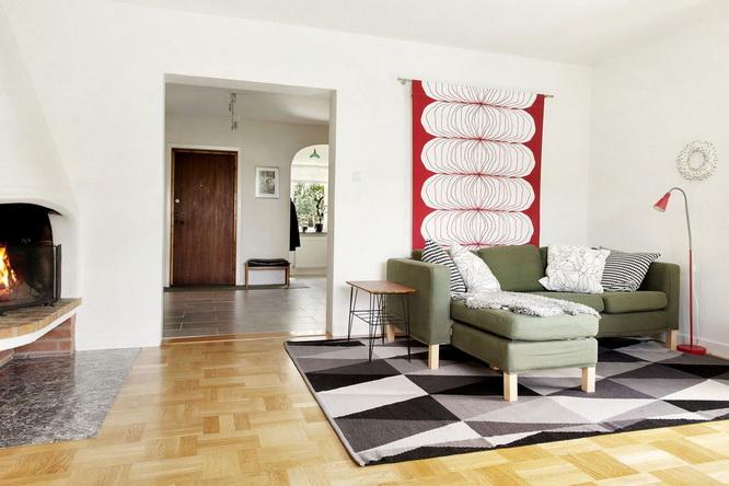 contemporary brick house with spacious interior (8)