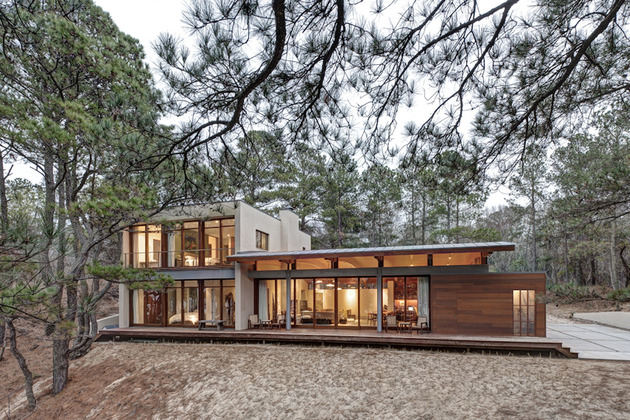 contemporary-forest-curved-roof-house (1)