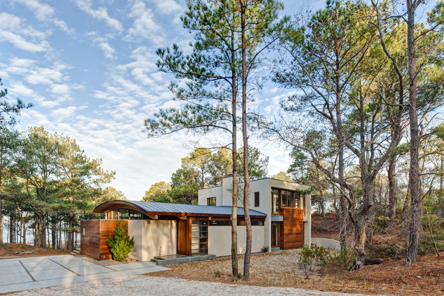 contemporary-forest-curved-roof-house (2)