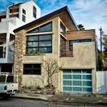 บ้านแนวร่วมสมัยกลางเมือง ออกแบบรูปทรงทันสมัยได้อย่างโดดเด่น สะดุดตา