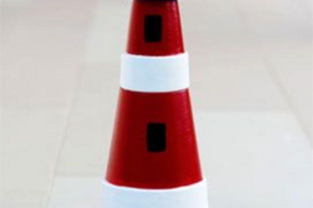 diy claypot lighthouse (2)
