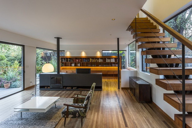 modern rectangular country house in wood (19)