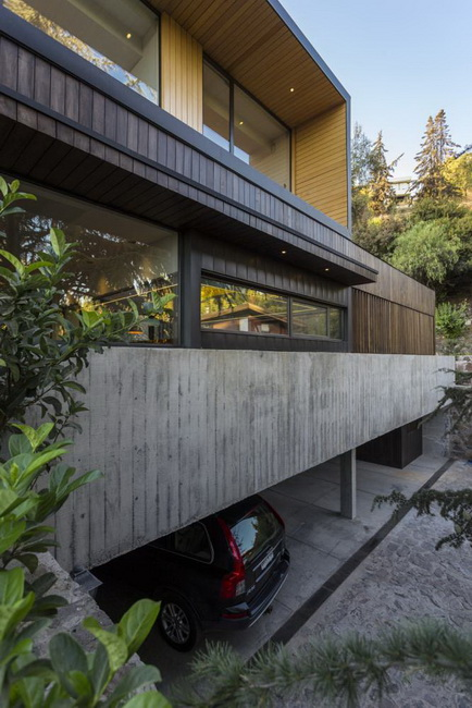modern rectangular country house in wood (6)