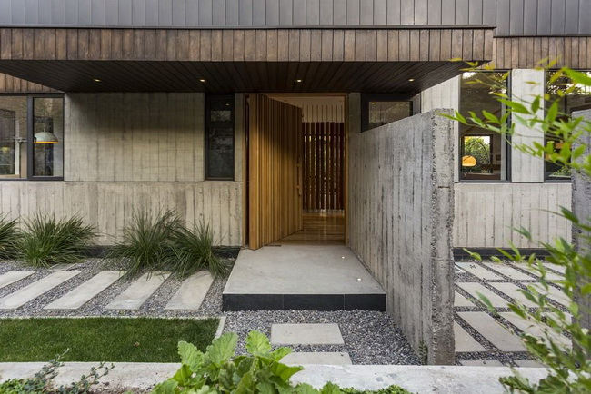 modern rectangular country house in wood (8)
