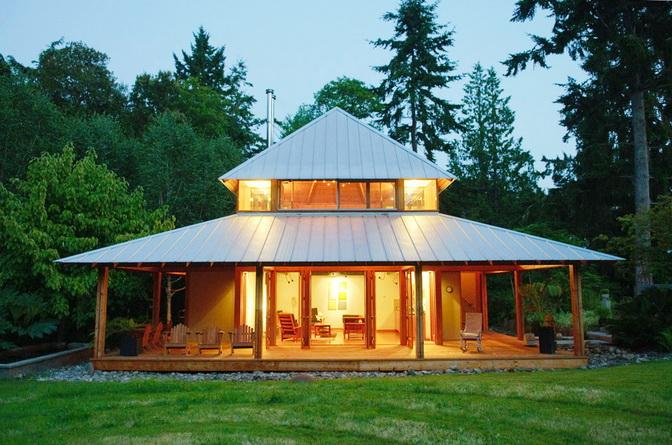 modern wooden guesthouse  (1)