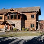 """บ้านแนววิลล่าแถบภูเขา ตกแต่งภายในสไตล์ """"โมเดิร์นรัสติค"""""""
