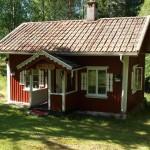 บ้านไม้คอทเทจกลางป่าขนาดย่อม ความสุขสันโดษที่แสนร่มรื่น