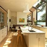 รีโนเวทบ้านเก่าที่สร้างขึ้นเมื่อปี 1980 ให้กลายเป็นบ้านกระจกทันสมัยที่ลงตัวกับธรรมชาติ