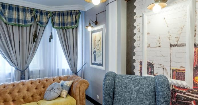 17 sq mts English street  living room interior design (5)