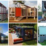 """22 ไอเดียสร้างบ้านจาก """"ตู้คอนเทนเนอร์"""" เป็นได้ทั้งที่อยู่อาศัย ออฟฟิศ และร้านต่างๆ"""
