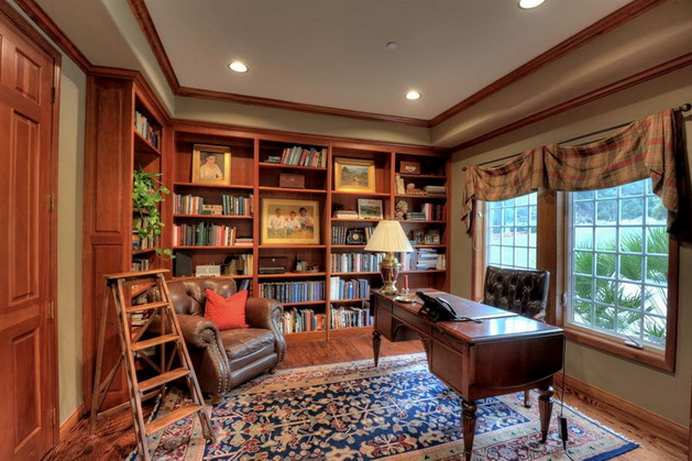 30-classic-library-home-design-ideas (12)