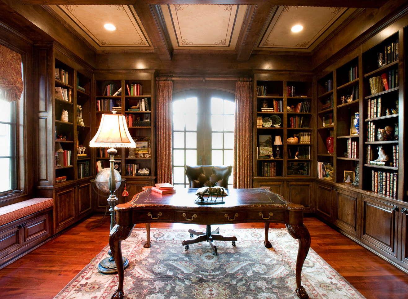 30-classic-library-home-design-ideas (13)