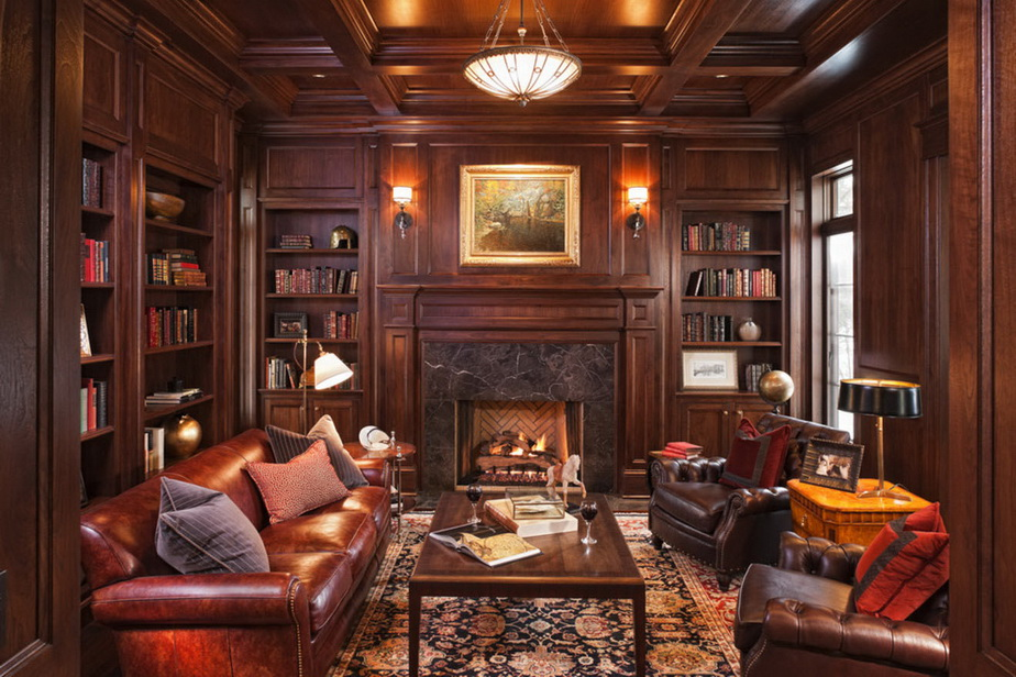 30-classic-library-home-design-ideas (22)