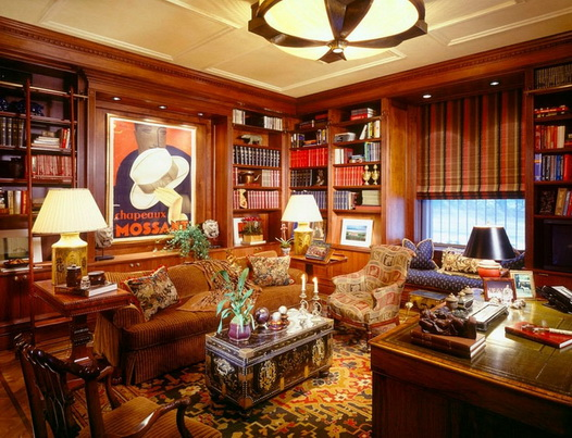 30-classic-library-home-design-ideas (8)