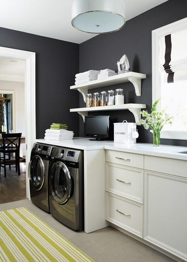 41 Sensational interiors showcasing black painted walls (10)