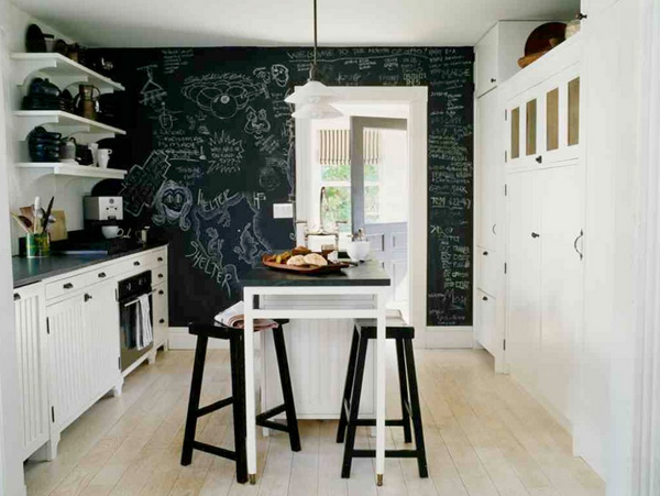 41 Sensational interiors showcasing black painted walls (11)