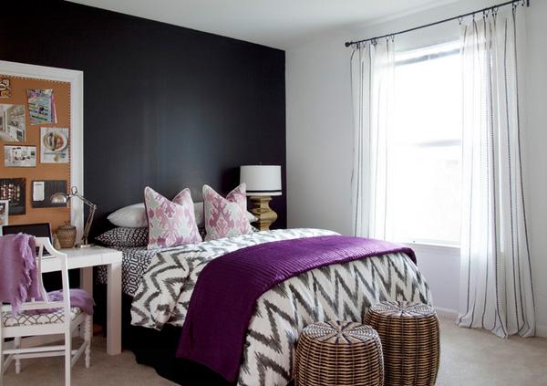 41 Sensational interiors showcasing black painted walls (12)