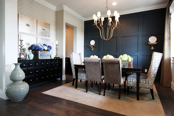 41 Sensational interiors showcasing black painted walls (14)