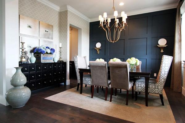 41 Sensational interiors showcasing black painted walls (14)