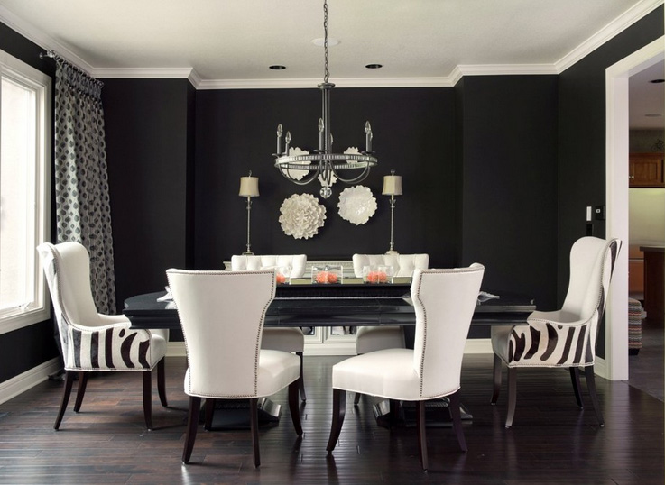 41 Sensational interiors showcasing black painted walls (16)