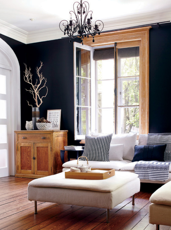 41 Sensational interiors showcasing black painted walls (2)