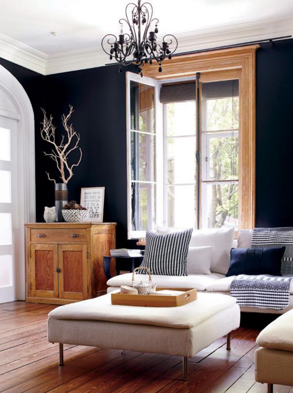 41 Sensational interiors showcasing black painted walls (2)