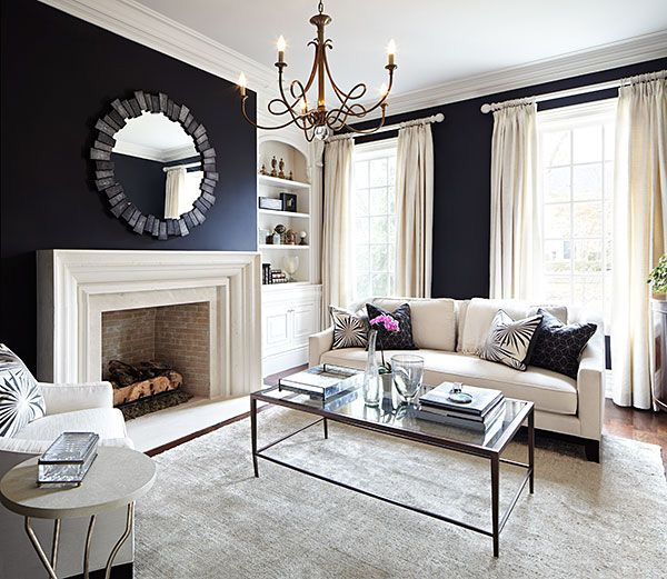 41 Sensational interiors showcasing black painted walls (21)