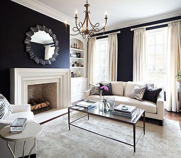41 Sensational interiors showcasing black painted walls (21)