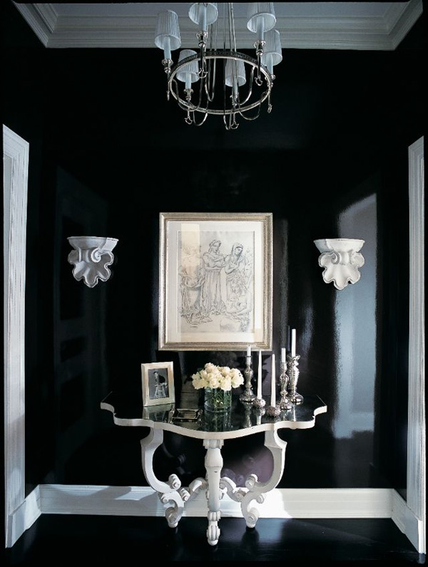 41 Sensational interiors showcasing black painted walls (22)