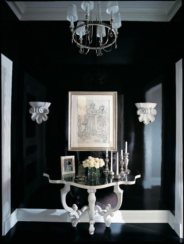 41 Sensational interiors showcasing black painted walls (22)