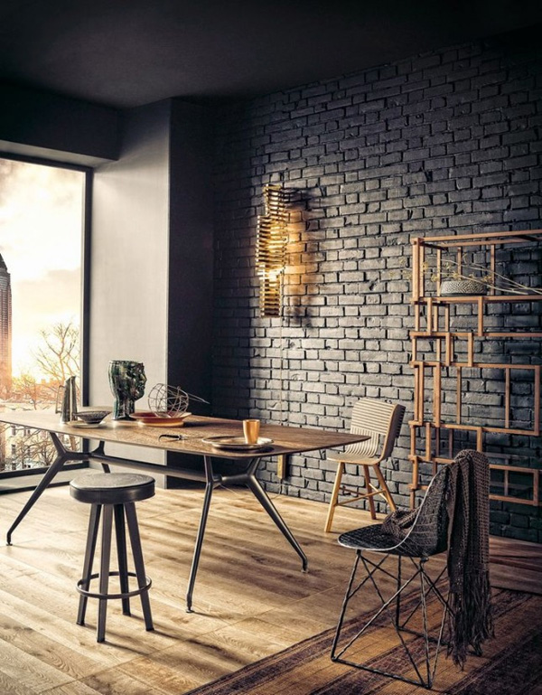 41 Sensational interiors showcasing black painted walls (24)