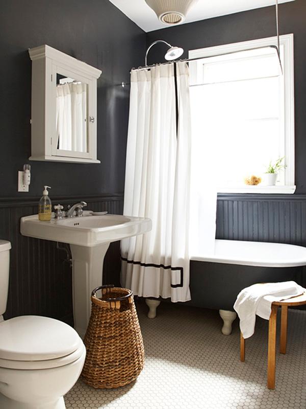 41 Sensational interiors showcasing black painted walls (3)
