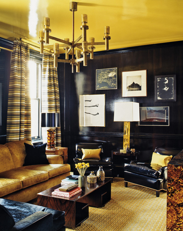 41 Sensational interiors showcasing black painted walls (30)