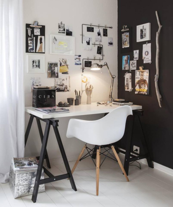 41 Sensational interiors showcasing black painted walls (31)