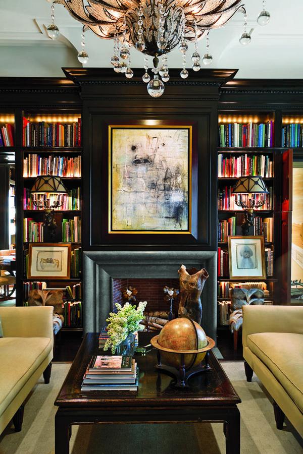 41 Sensational interiors showcasing black painted walls (35)