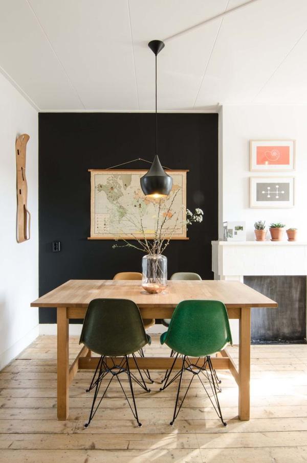 41 Sensational interiors showcasing black painted walls (38)