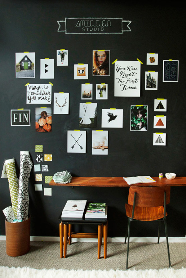 41 Sensational interiors showcasing black painted walls (40)