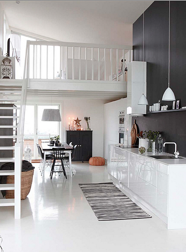 41 Sensational interiors showcasing black painted walls (41)