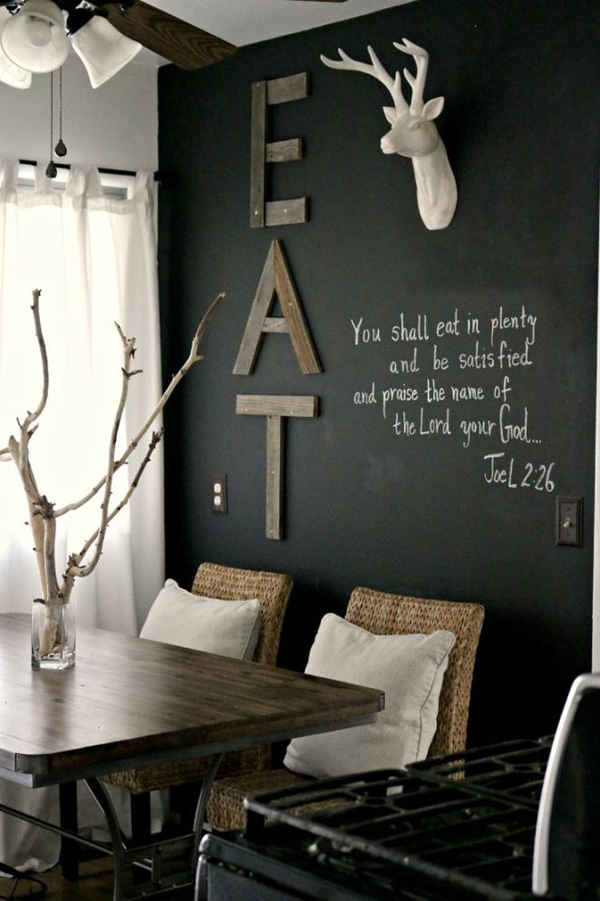 41 Sensational interiors showcasing black painted walls (5)