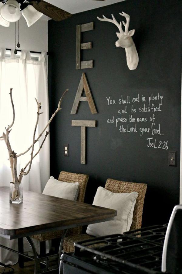 41 Sensational interiors showcasing black painted walls (5)
