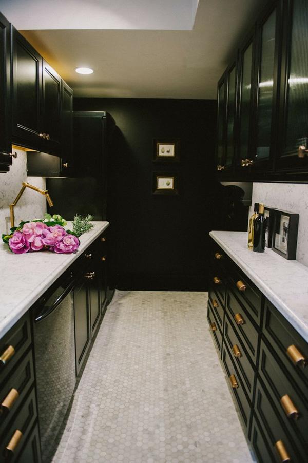41 Sensational interiors showcasing black painted walls (7)