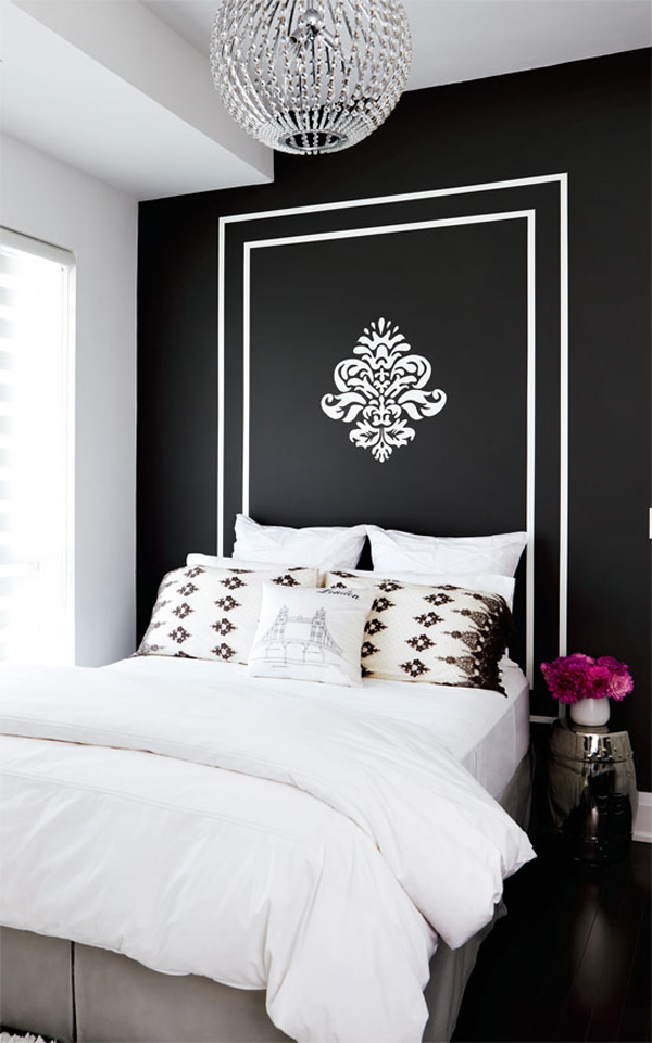 41 Sensational interiors showcasing black painted walls (8)